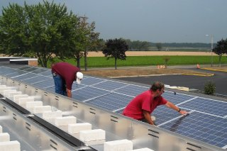 Meridian Solar on Shamong School